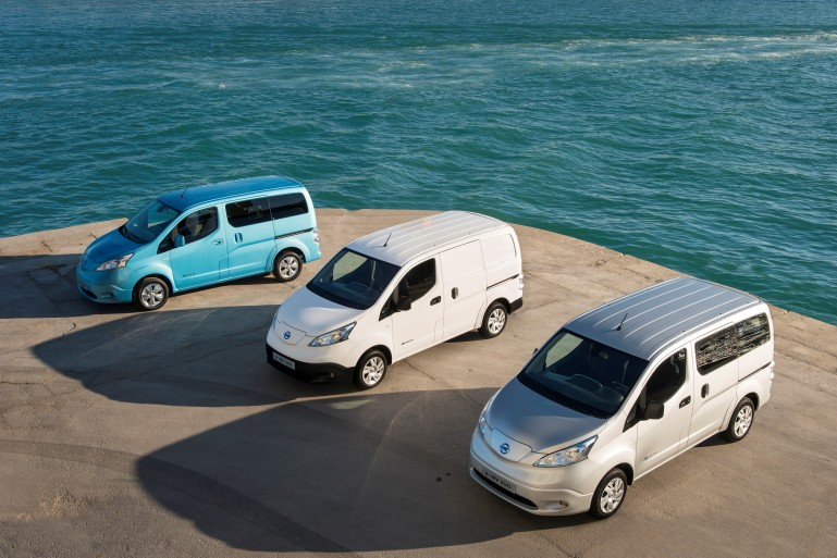 Nissan e-NV200 set to go on sale in June