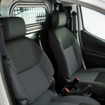 Nissan e-NV200 with cargo divider in place
