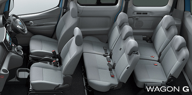 Nissan e-NV200 Wagon G - 7 seat model